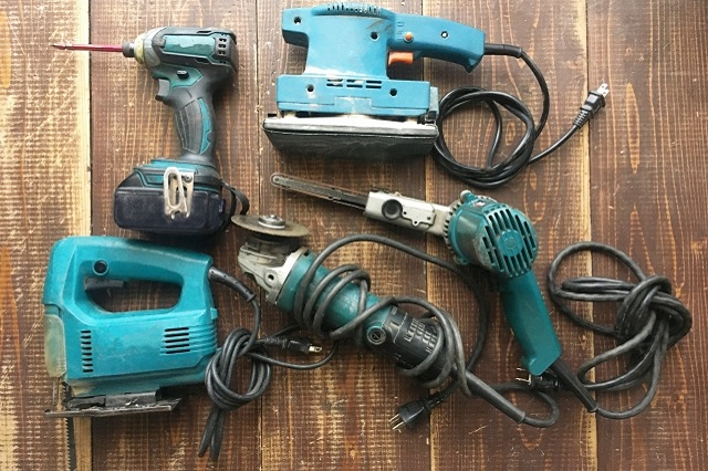 工具類、工作機械、塗料